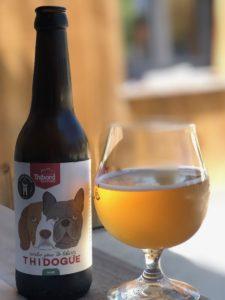 La thidogue, bière DE LA BRASSERIE THIBORD