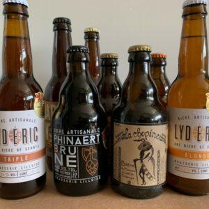 Déguster 8 bières en or des la région des hauts-de-france