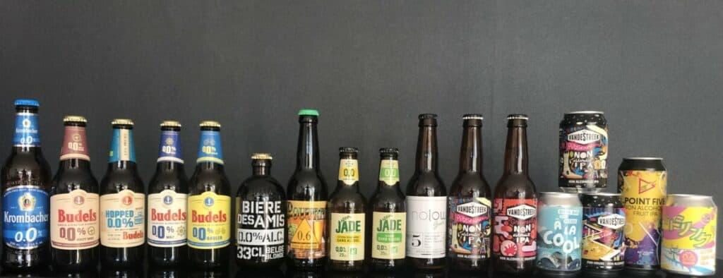Découvrez les bières sans alcool